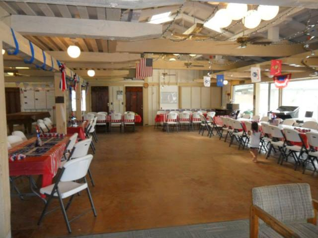 Memorial Day Family Clubhouse