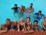 Lots of kids and fun in the pool